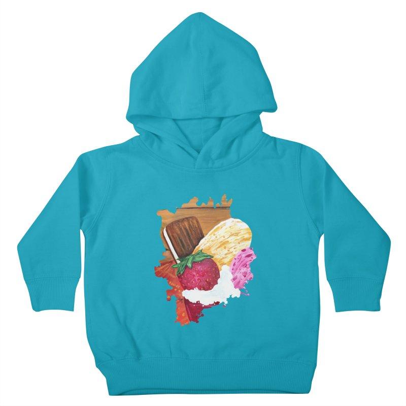 Ice Cream Dream Kids Toddler Pullover Hoody by adamzworld's Artist Shop