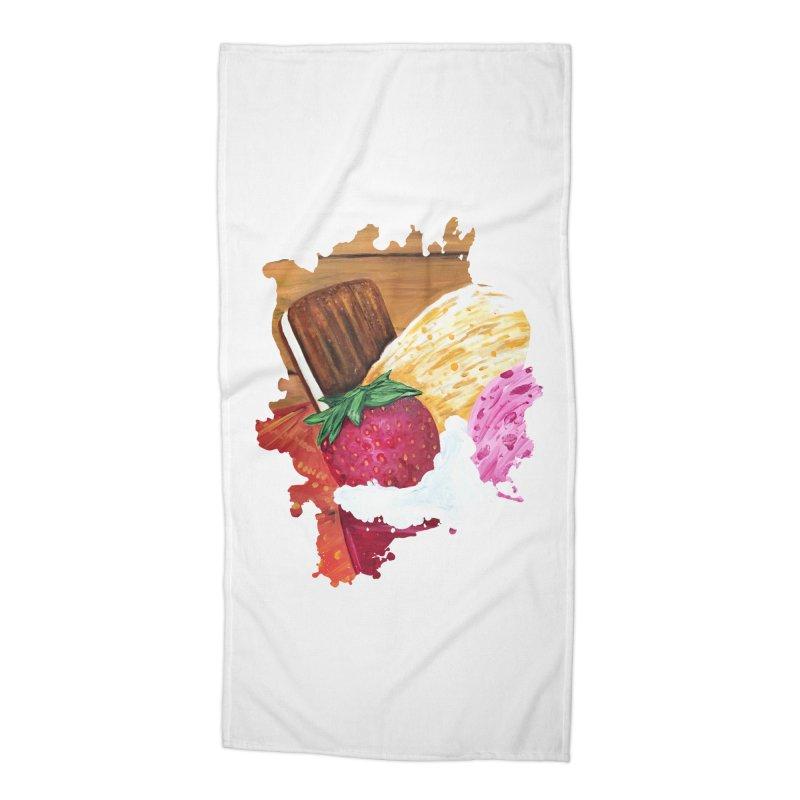 Ice Cream Dream Accessories Beach Towel by adamzworld's Artist Shop