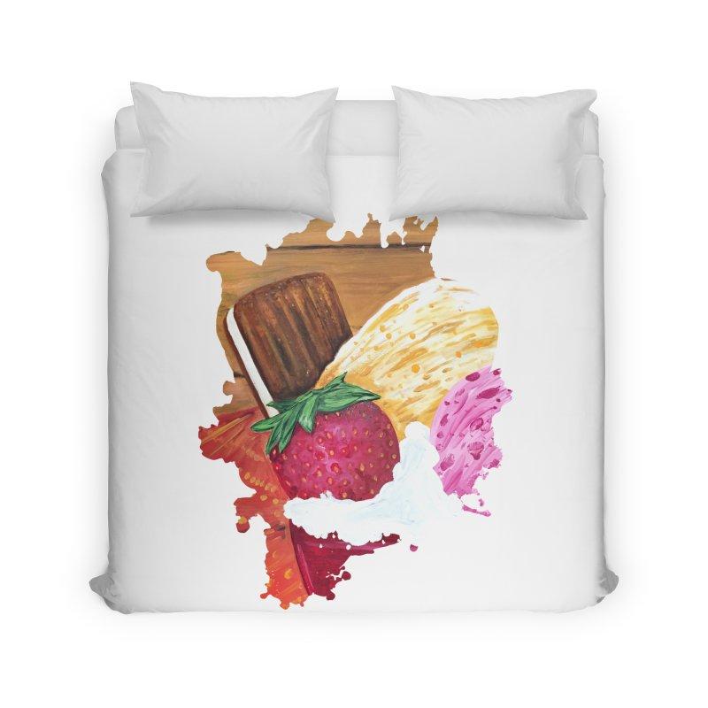 Ice Cream Dream Home Duvet by adamzworld's Artist Shop