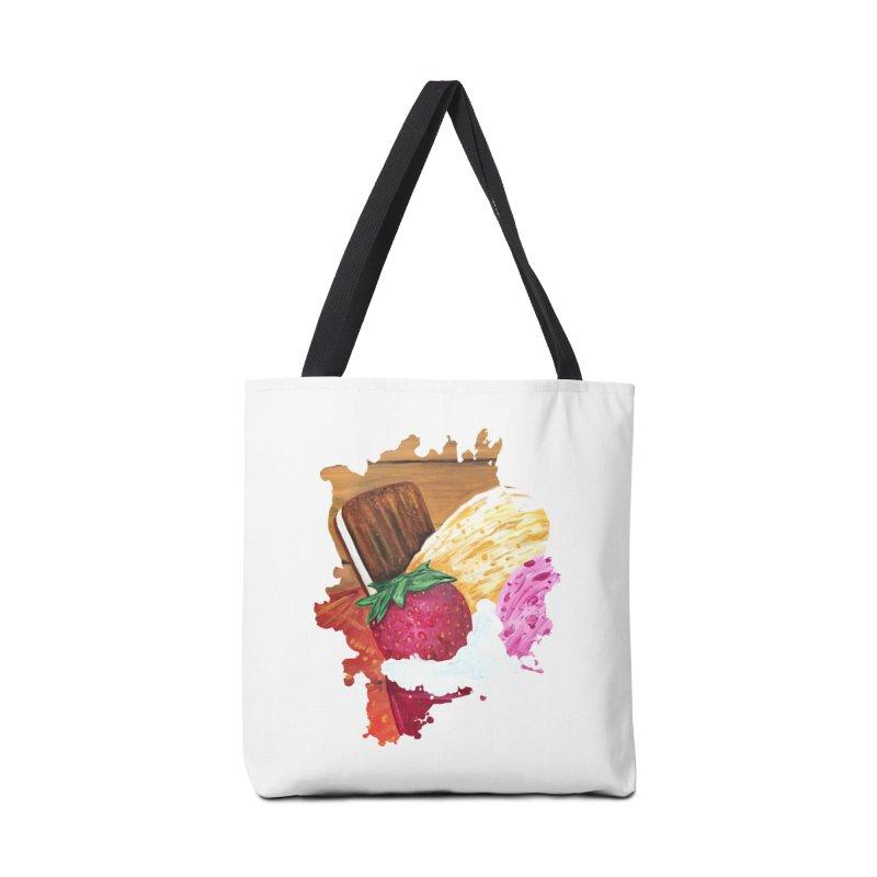Ice Cream Dream Accessories Bag by adamzworld's Artist Shop