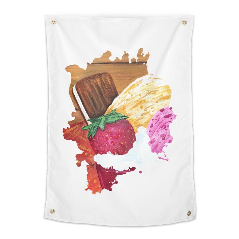 Ice Cream Dream Home Tapestry by adamzworld's Artist Shop