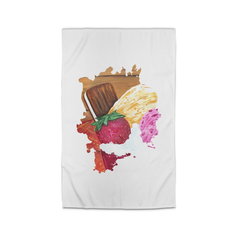 Ice Cream Dream Home Rug by adamzworld's Artist Shop
