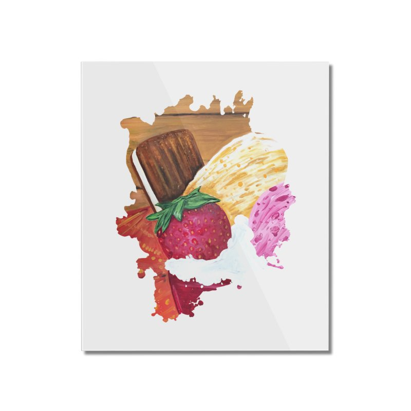 Ice Cream Dream Home Mounted Acrylic Print by adamzworld's Artist Shop