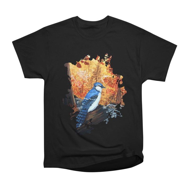 Blue Jay Life Men's Classic T-Shirt by adamzworld's Artist Shop