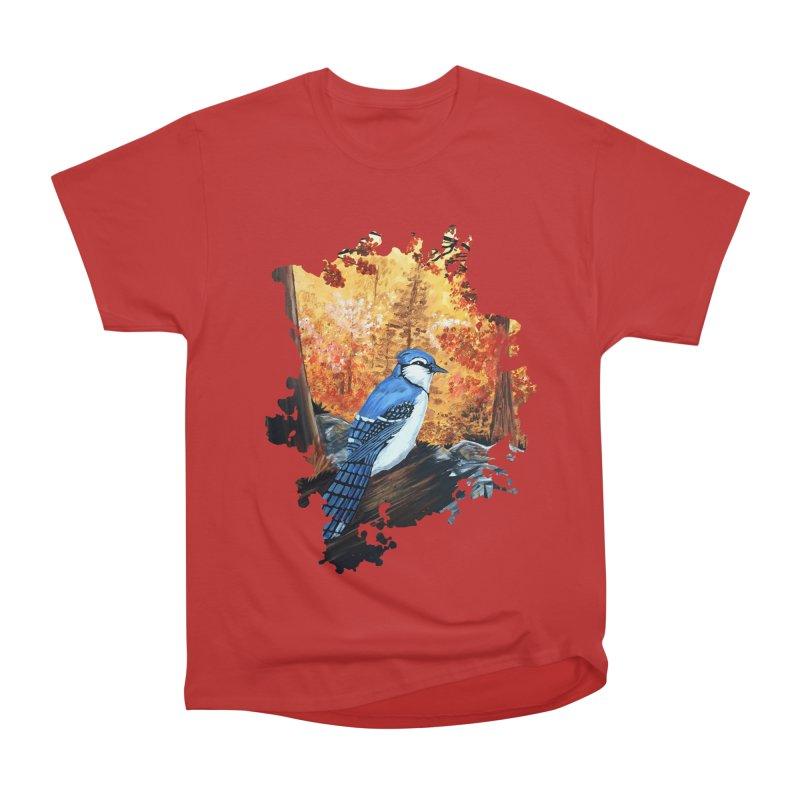 Blue Jay Life Women's Classic Unisex T-Shirt by adamzworld's Artist Shop
