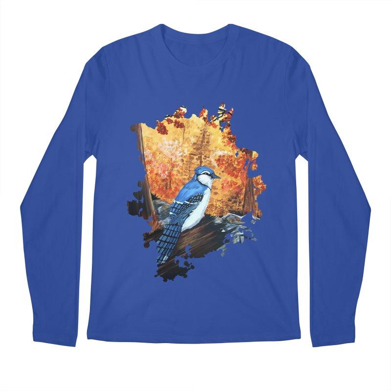 Blue Jay Life Men's Longsleeve T-Shirt by adamzworld's Artist Shop