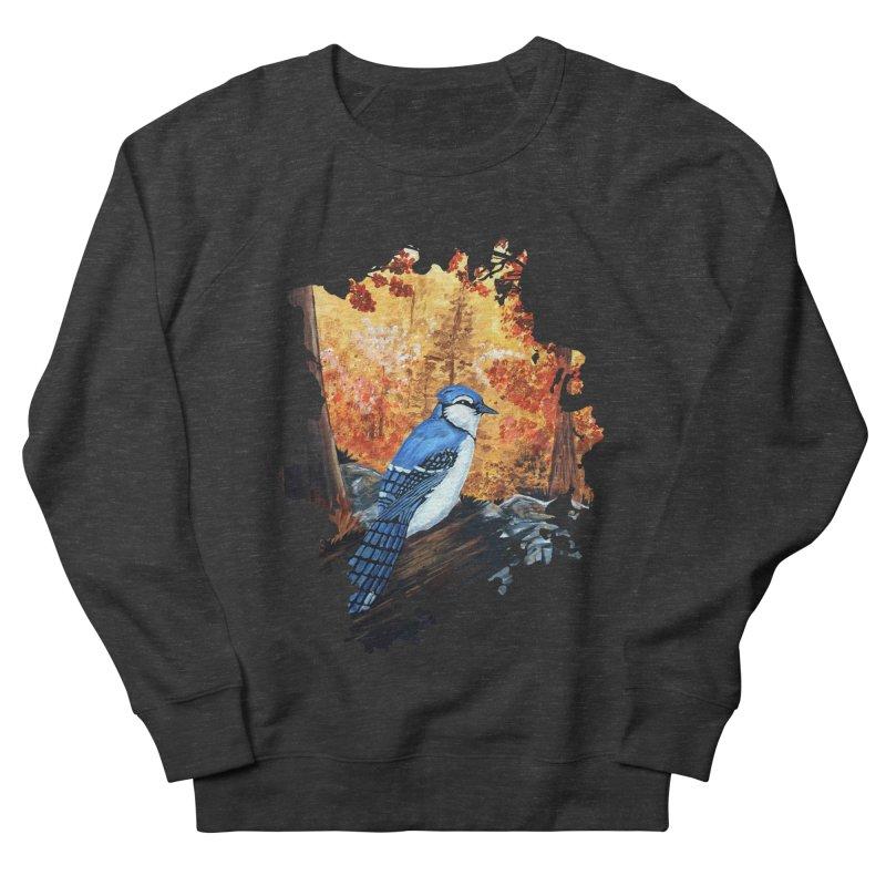 Blue Jay Life Men's Sweatshirt by adamzworld's Artist Shop