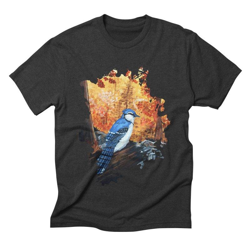 Blue Jay Life Men's Triblend T-Shirt by adamzworld's Artist Shop
