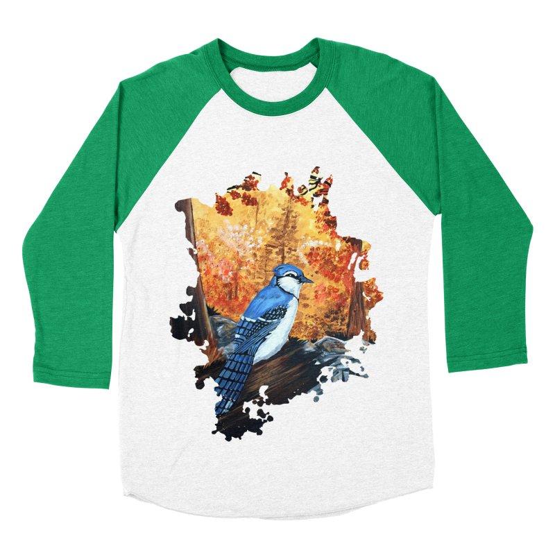 Blue Jay Life Women's Baseball Triblend T-Shirt by adamzworld's Artist Shop