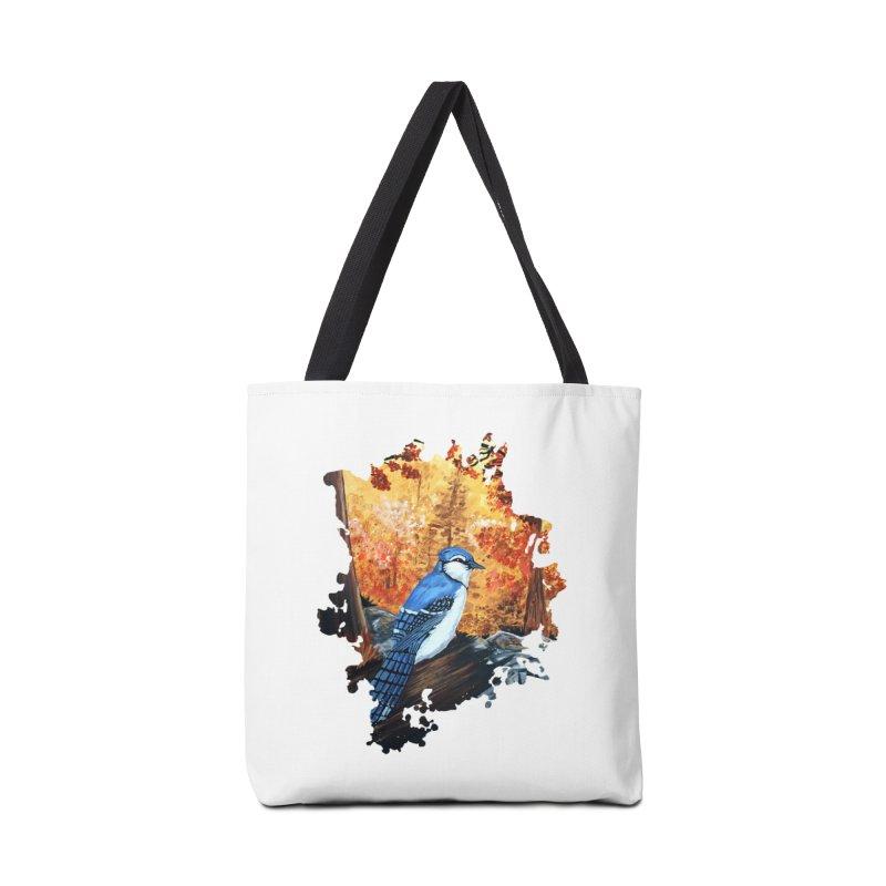 Blue Jay Life Accessories Bag by adamzworld's Artist Shop