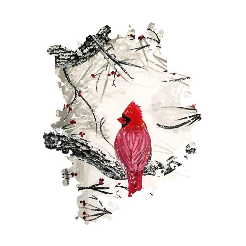 Red Robins Winter by adamzworld's Artist Shop