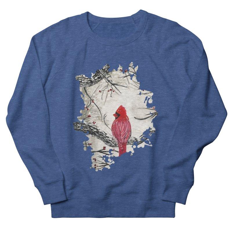 Red Robins Winter Men's Sweatshirt by adamzworld's Artist Shop