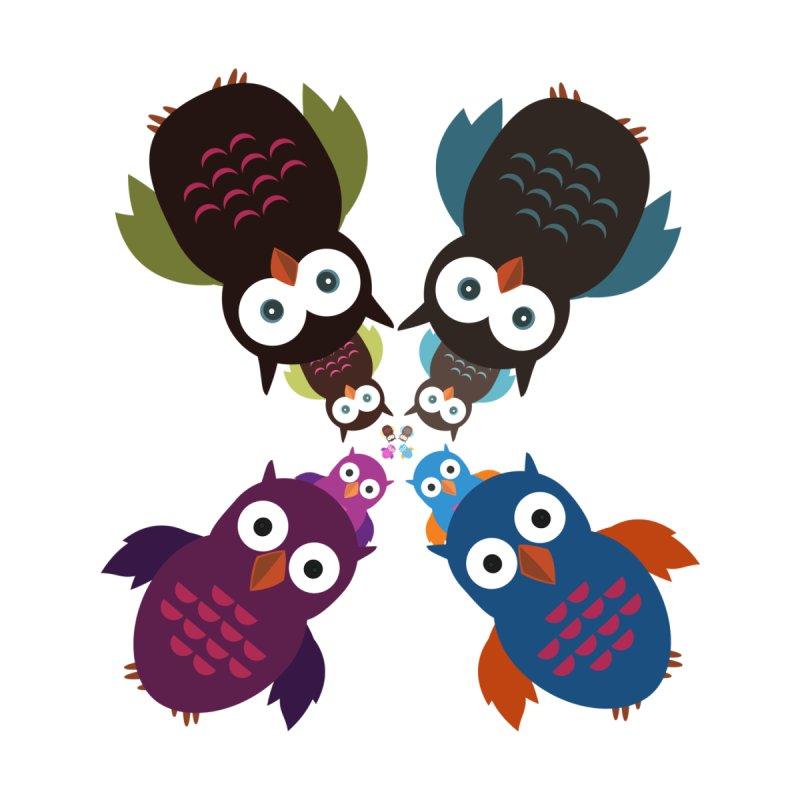 Owl Crowd by adamzworld's Artist Shop