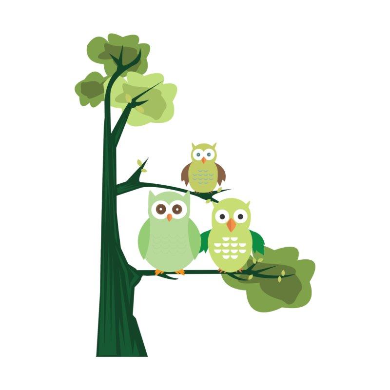 Green Owls by adamzworld's Artist Shop
