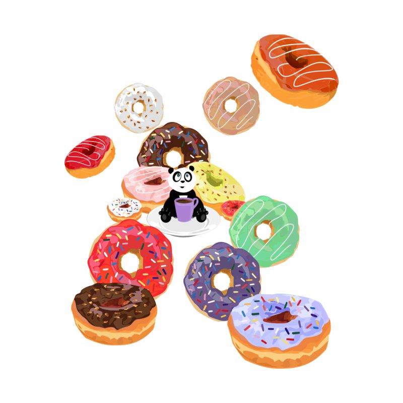 Panda & Donuts by adamzworld's Artist Shop