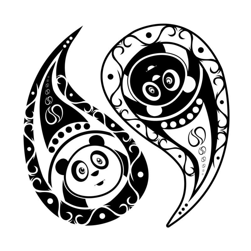 Yin-Yang Panda by adamzworld's Artist Shop