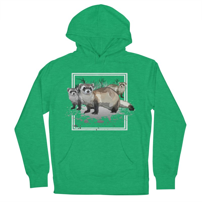 Ferrets Women's Pullover Hoody by adamzworld's Artist Shop