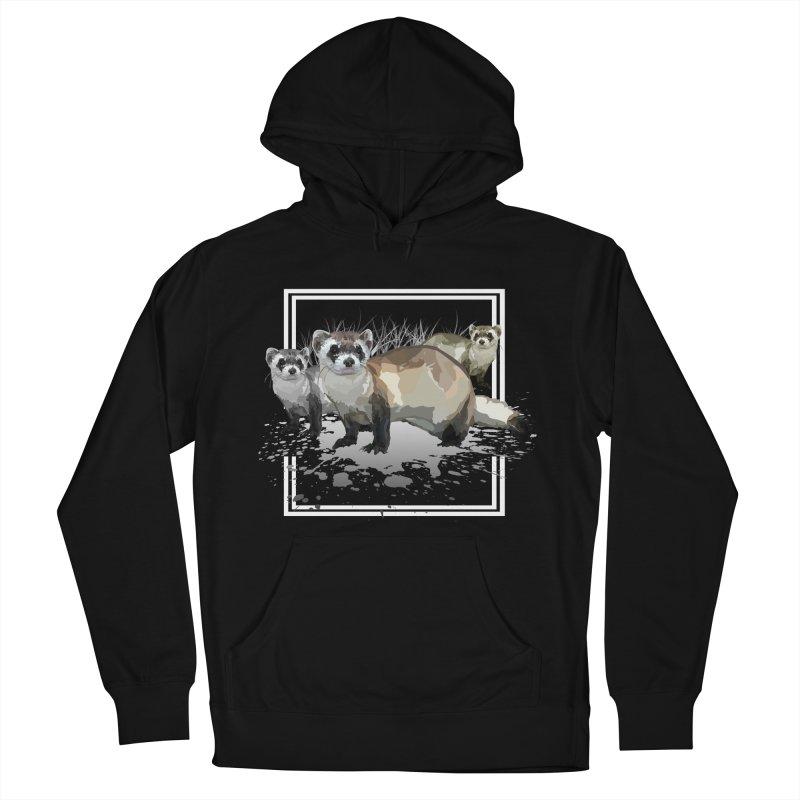 Ferrets Men's Pullover Hoody by adamzworld's Artist Shop