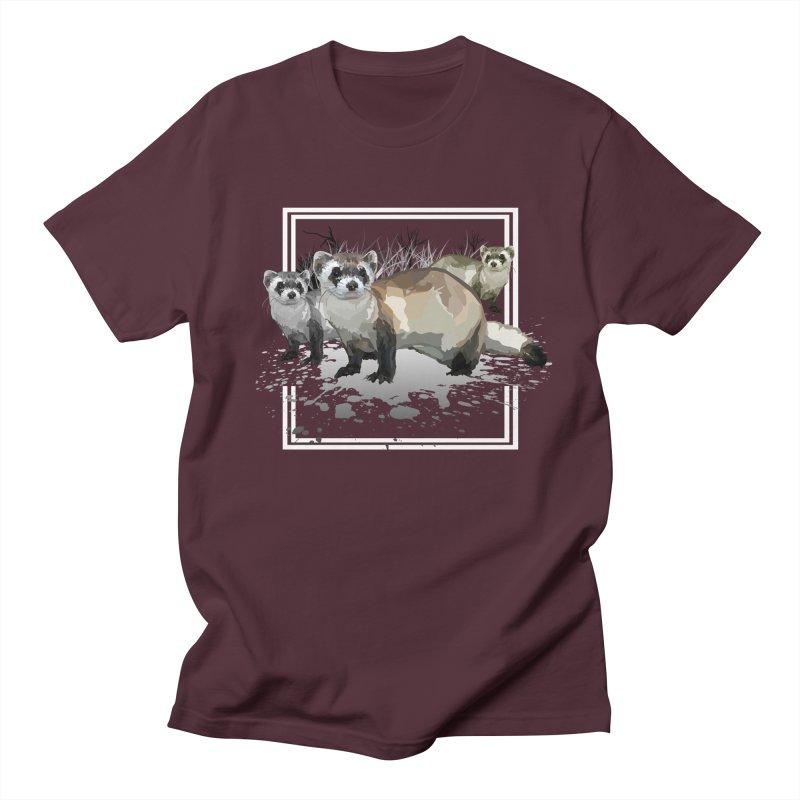 Ferrets Women's Unisex T-Shirt by adamzworld's Artist Shop