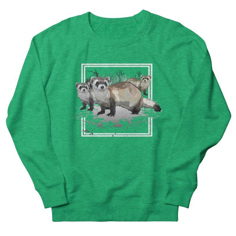 Ferrets Women's Sweatshirt by adamzworld's Artist Shop
