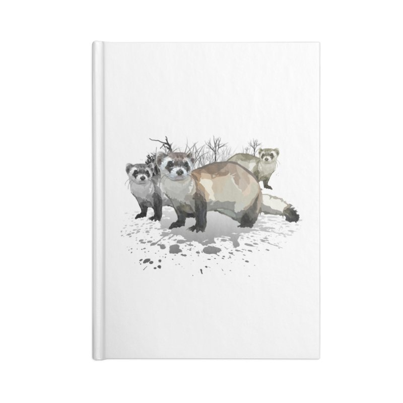 Ferrets Accessories Notebook by adamzworld's Artist Shop