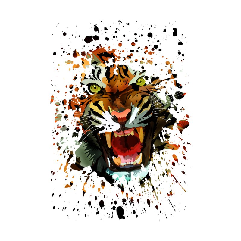 Tiger Roar None  by adamzworld's Artist Shop