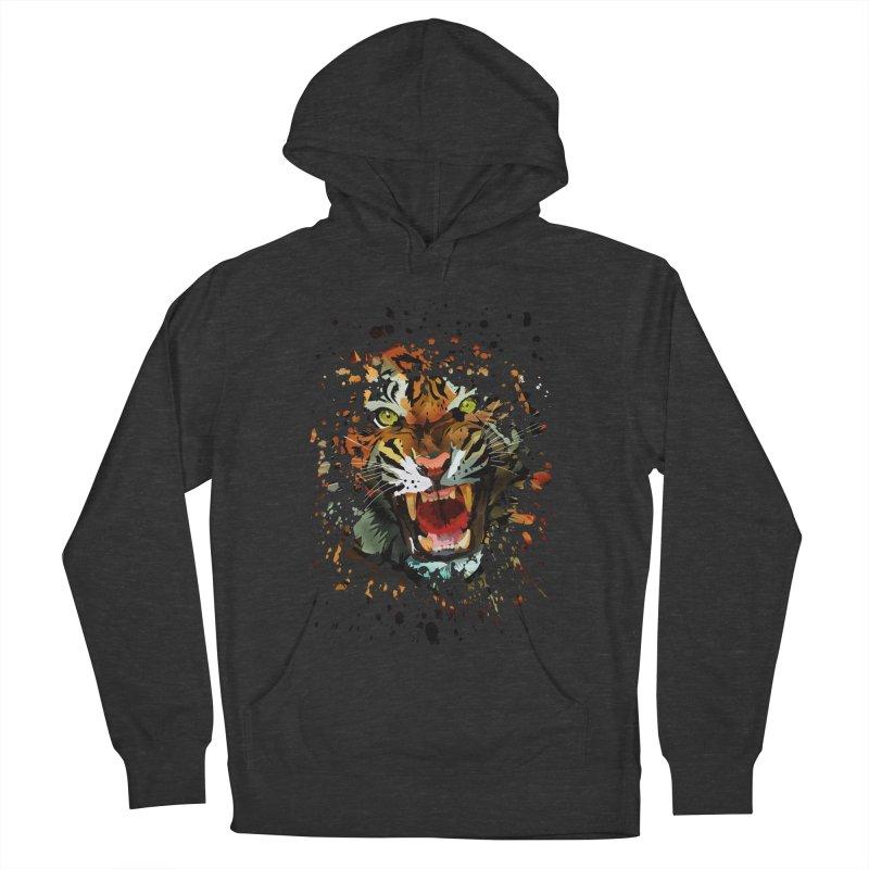 Tiger Roar Men's Pullover Hoody by adamzworld's Artist Shop