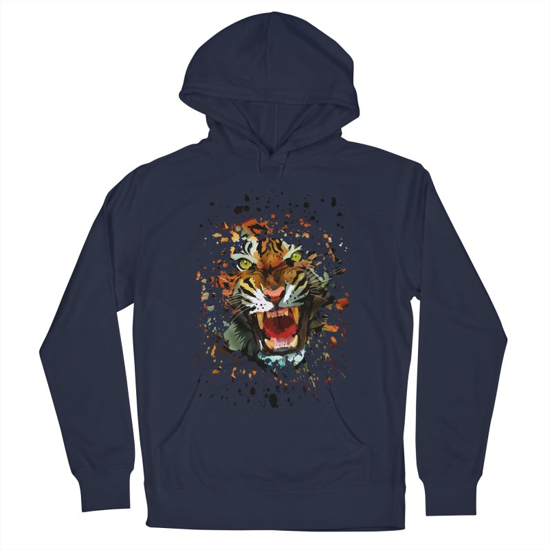 Tiger Roar Men's Pullover Hoody by adamzworld's Artist Shop