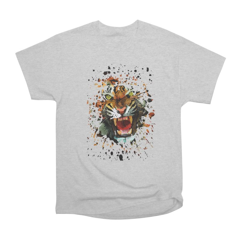 Tiger Roar Women's Classic Unisex T-Shirt by adamzworld's Artist Shop