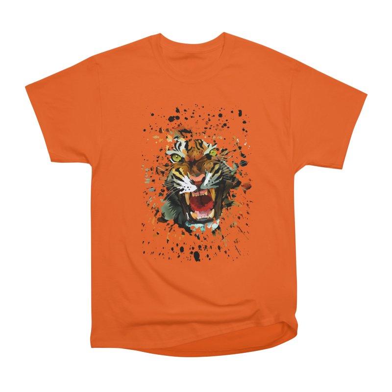 Tiger Roar Men's Classic T-Shirt by adamzworld's Artist Shop