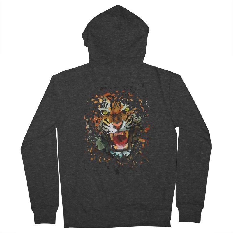Tiger Roar Women's Zip-Up Hoody by adamzworld's Artist Shop