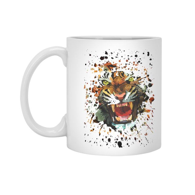 Tiger Roar Accessories Mug by adamzworld's Artist Shop