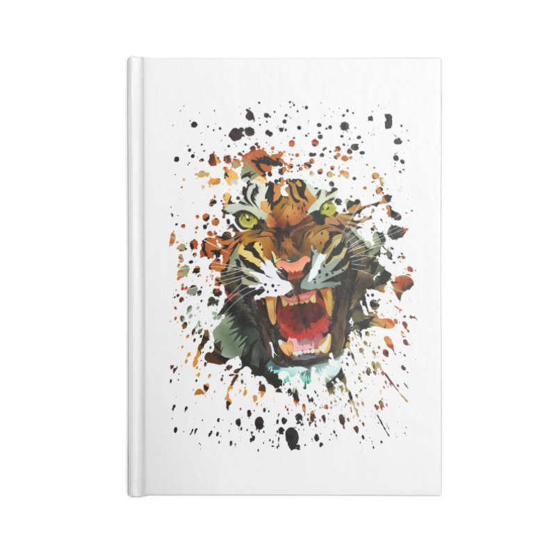 Tiger Roar Accessories Notebook by adamzworld's Artist Shop