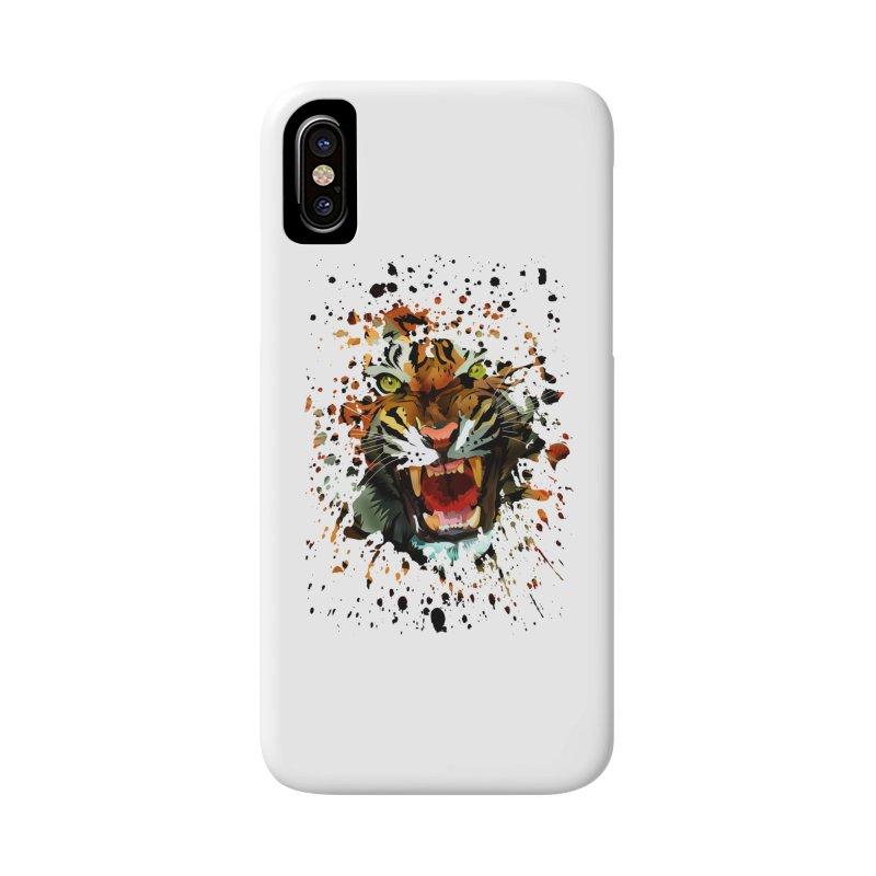 Tiger Roar Accessories Phone Case by adamzworld's Artist Shop