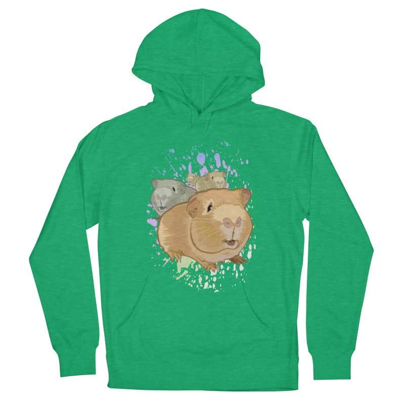 Guinea Pigs Women's Pullover Hoody by adamzworld's Artist Shop