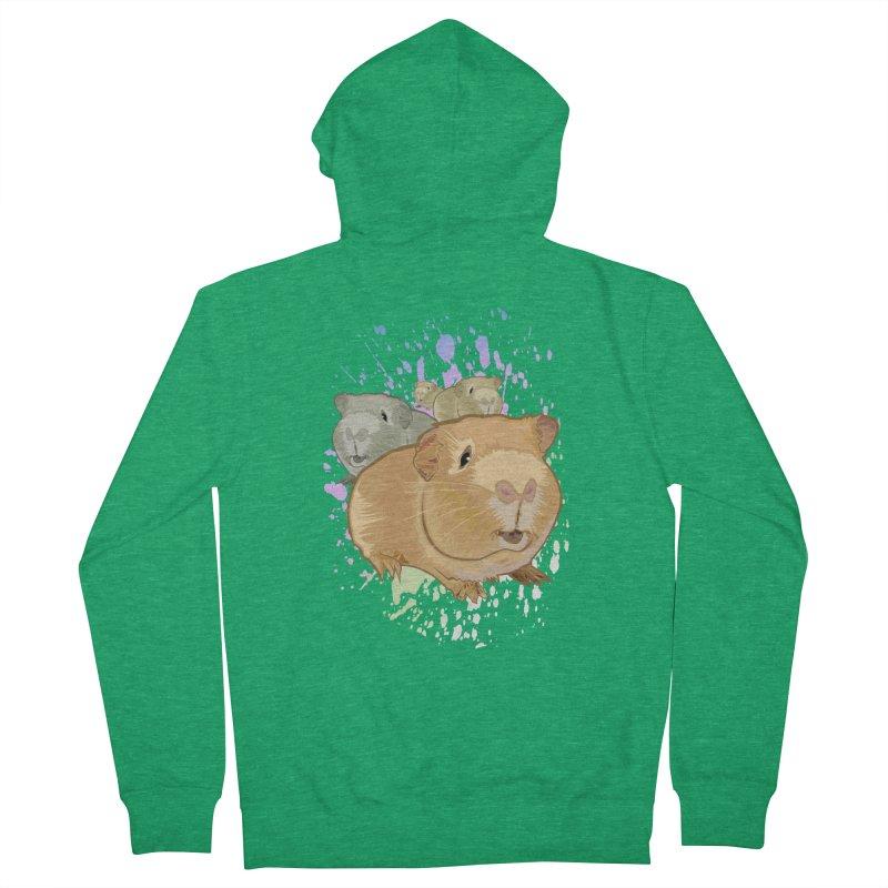 Guinea Pigs Women's Zip-Up Hoody by adamzworld's Artist Shop