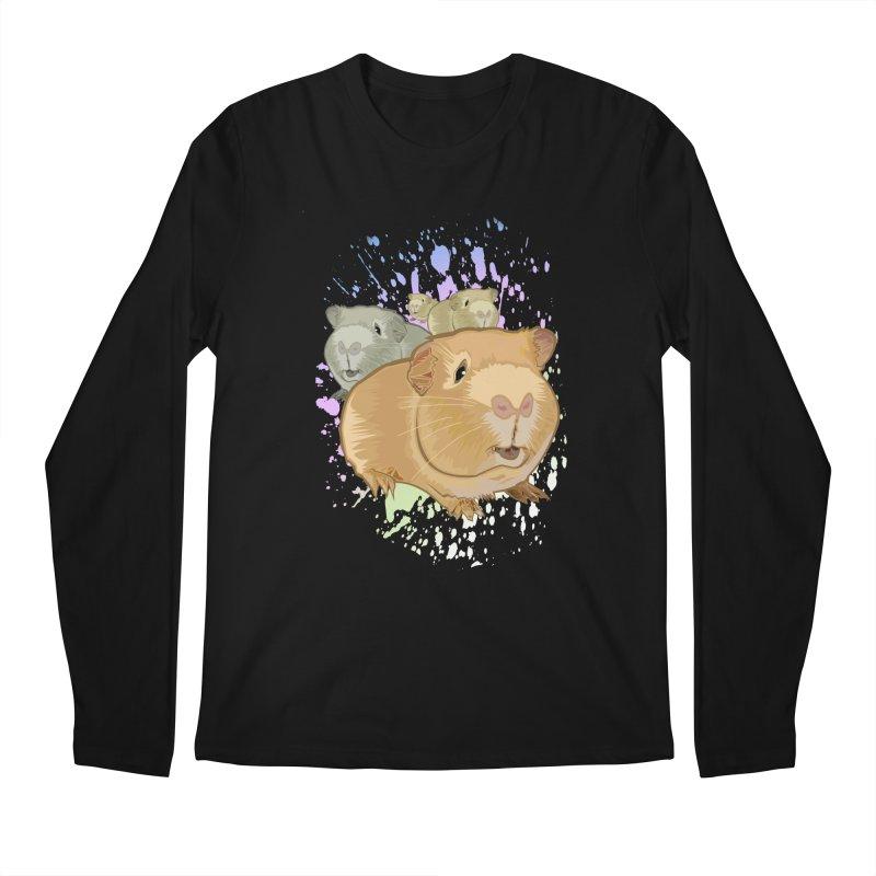 Guinea Pigs Men's Longsleeve T-Shirt by adamzworld's Artist Shop
