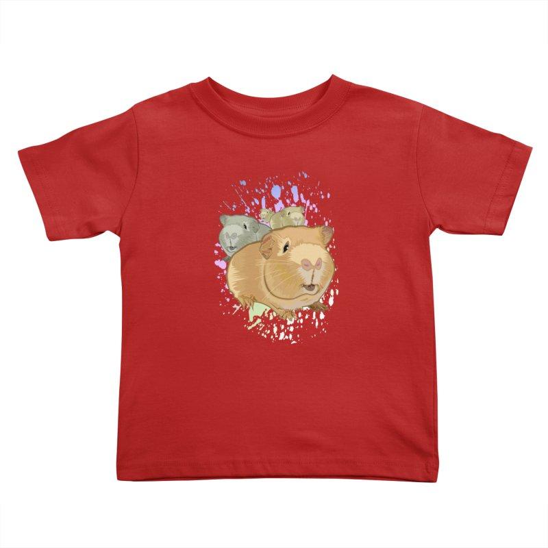 Guinea Pigs Kids Toddler T-Shirt by adamzworld's Artist Shop