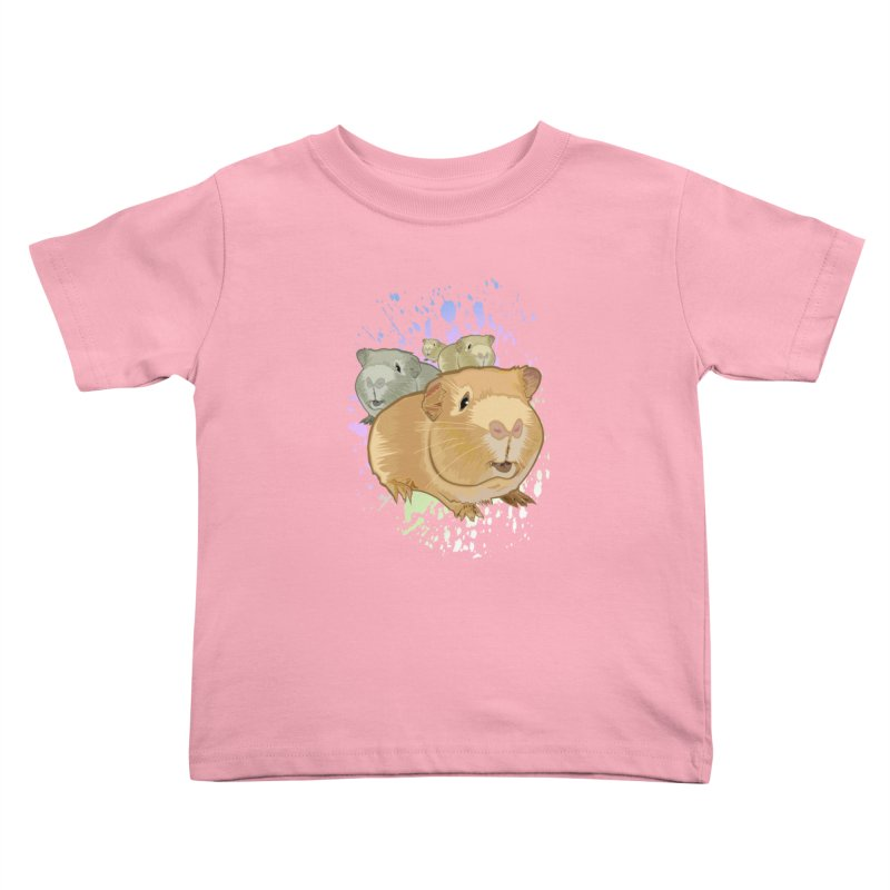 Guinea Pigs Kids Toddler T-Shirt by adamzworld's Artist Shop