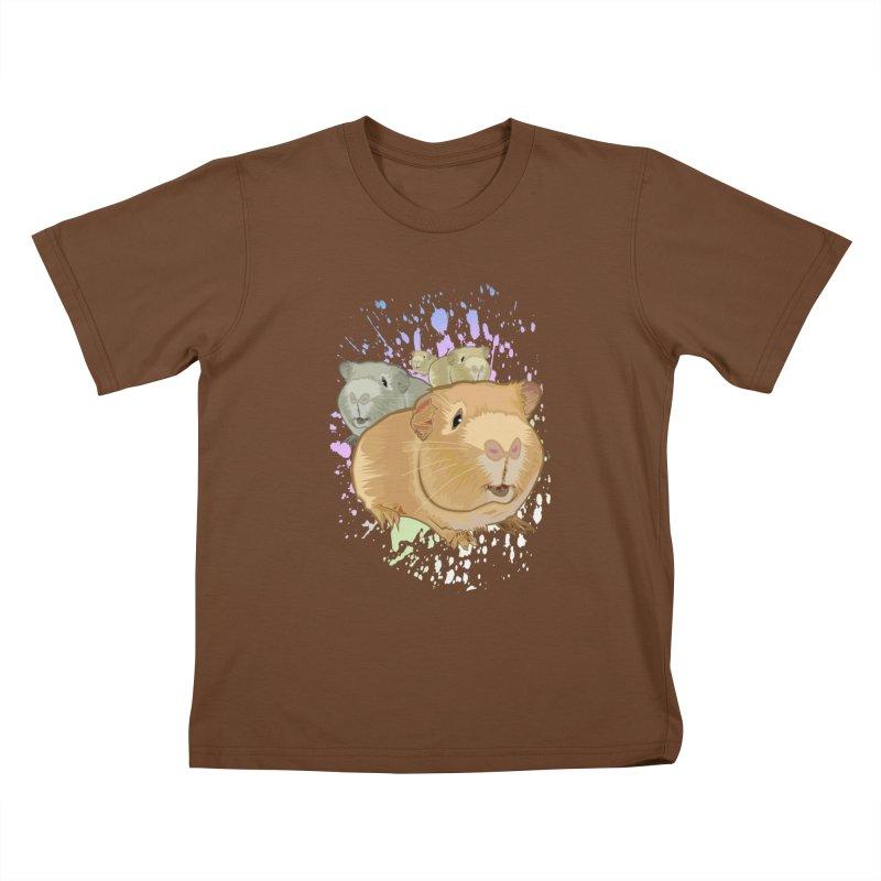Guinea Pigs Kids T-shirt by adamzworld's Artist Shop