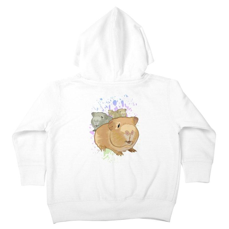 Guinea Pigs Kids Toddler Zip-Up Hoody by adamzworld's Artist Shop
