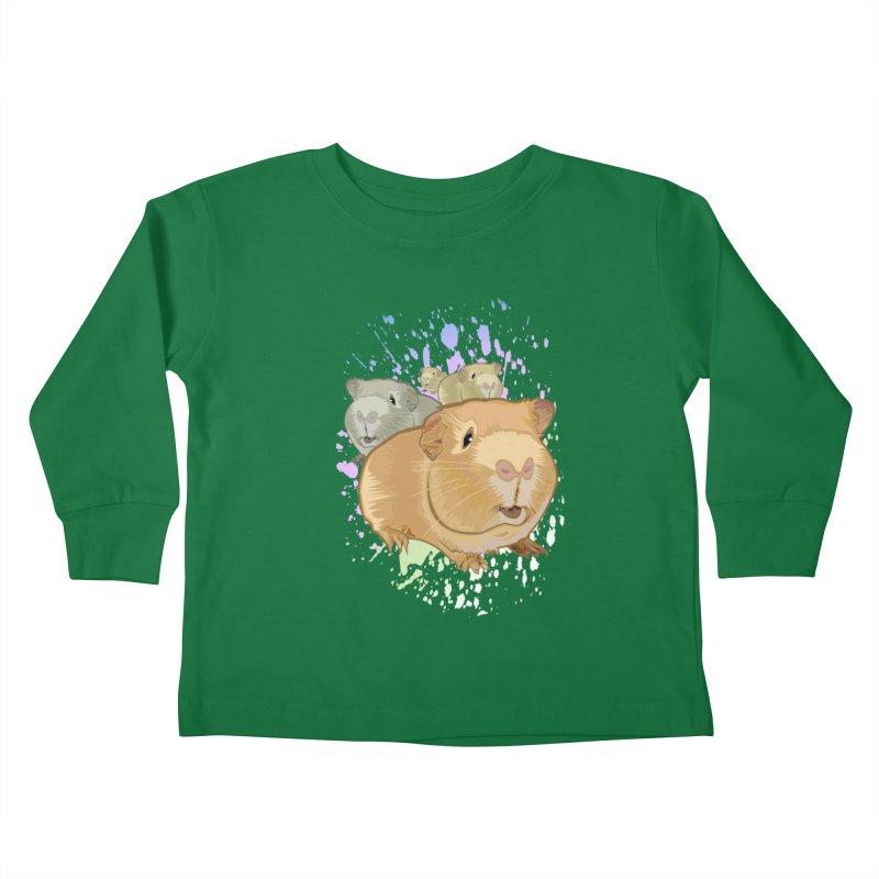 Guinea Pigs Kids Toddler Longsleeve T-Shirt by adamzworld's Artist Shop