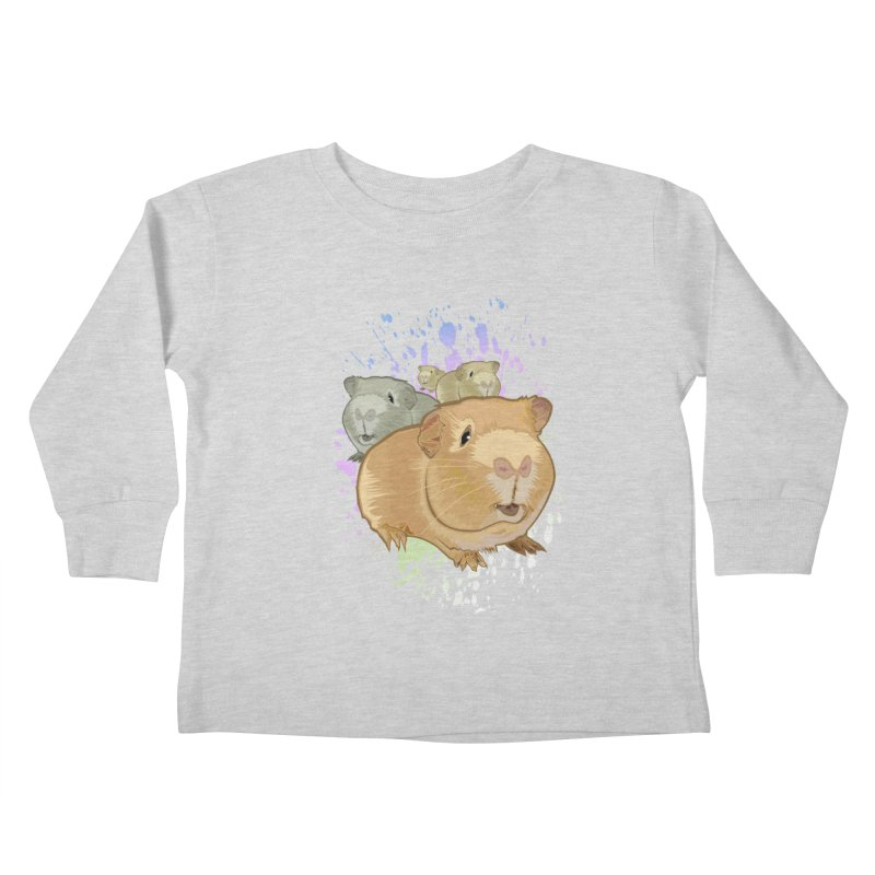 Guinea Pigs Kids Toddler Longsleeve T-Shirt by adamzworld's Artist Shop
