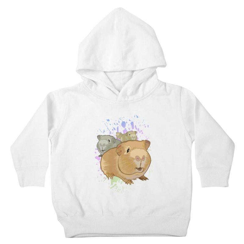 Guinea Pigs Kids Toddler Pullover Hoody by adamzworld's Artist Shop