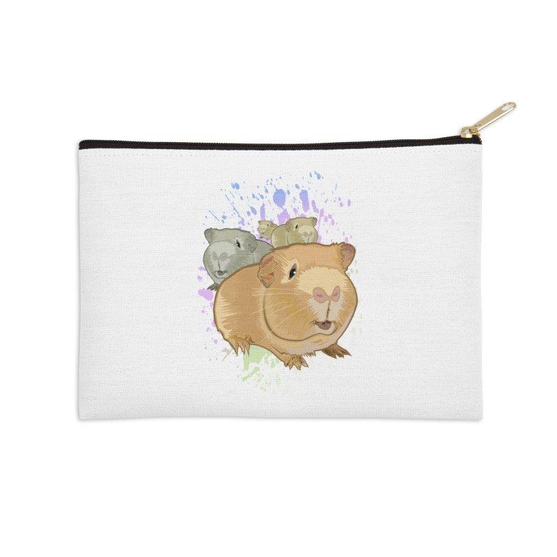 Guinea Pigs Accessories Zip Pouch by adamzworld's Artist Shop