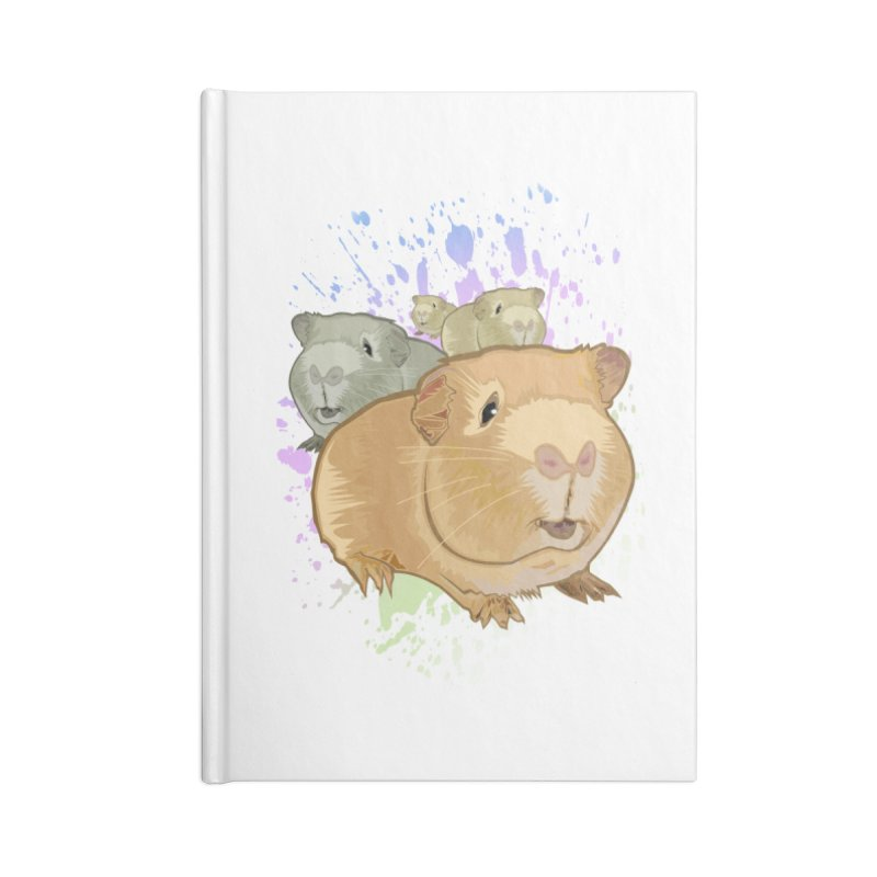 Guinea Pigs Accessories Notebook by adamzworld's Artist Shop