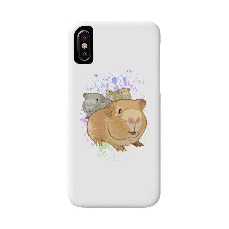 Guinea Pigs Accessories Phone Case by adamzworld's Artist Shop