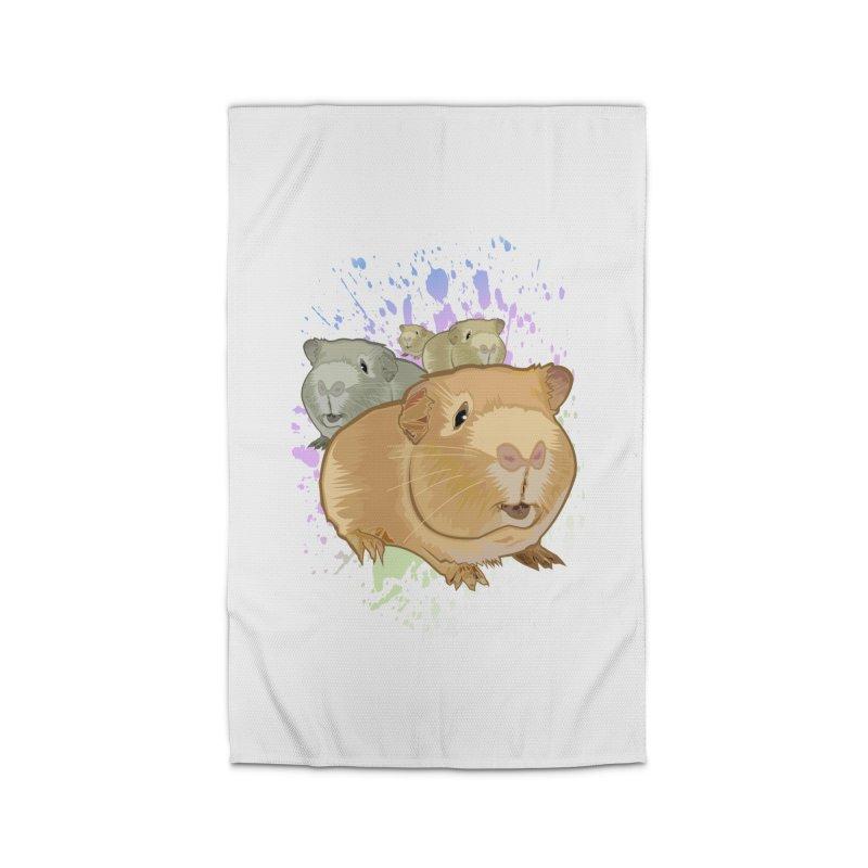 Guinea Pigs Home Rug by adamzworld's Artist Shop