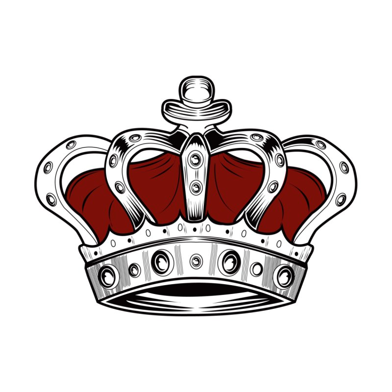 Crown - Red None  by adamzworld's Artist Shop