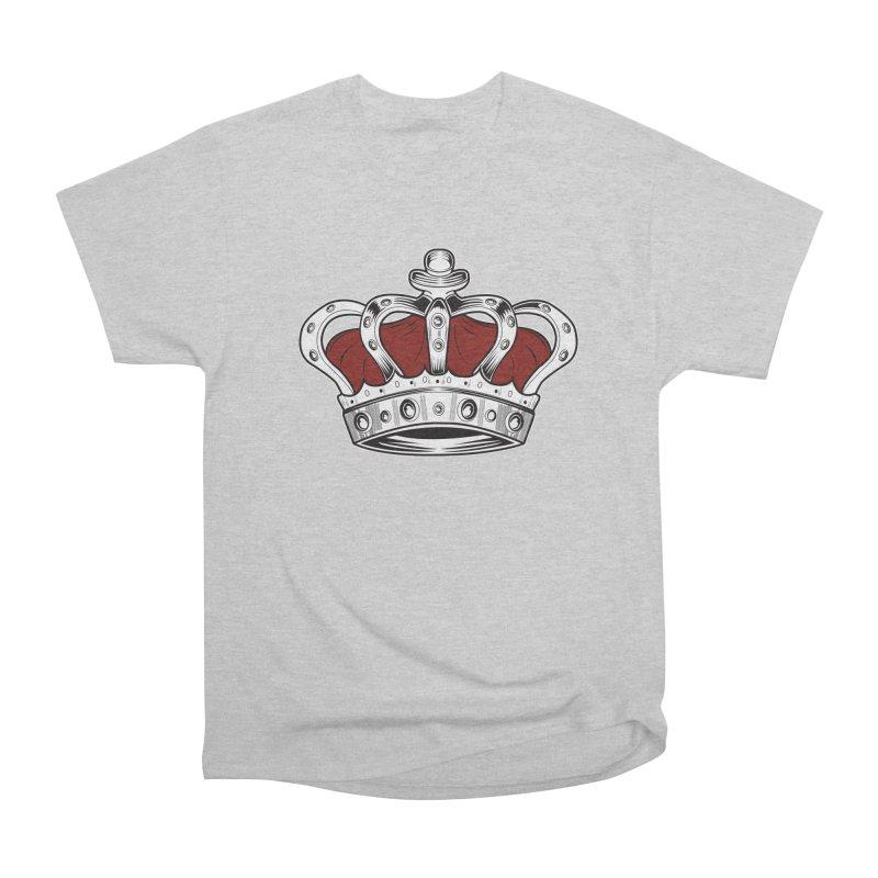 Crown - Red Men's Classic T-Shirt by adamzworld's Artist Shop
